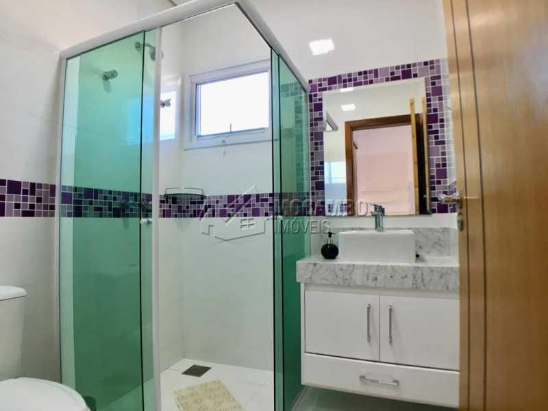 Banheiro suíte - Casa em Condomínio 4 quartos para alugar Itatiba,SP - R$ 5.700 - FCCN40134 - 22