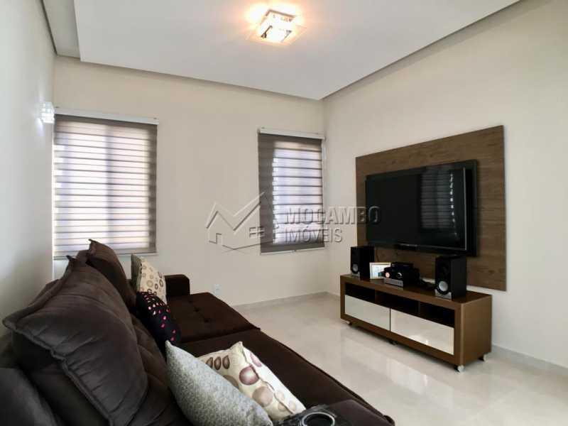 Sala de tv - Casa em Condomínio 4 quartos para alugar Itatiba,SP - R$ 5.700 - FCCN40134 - 7