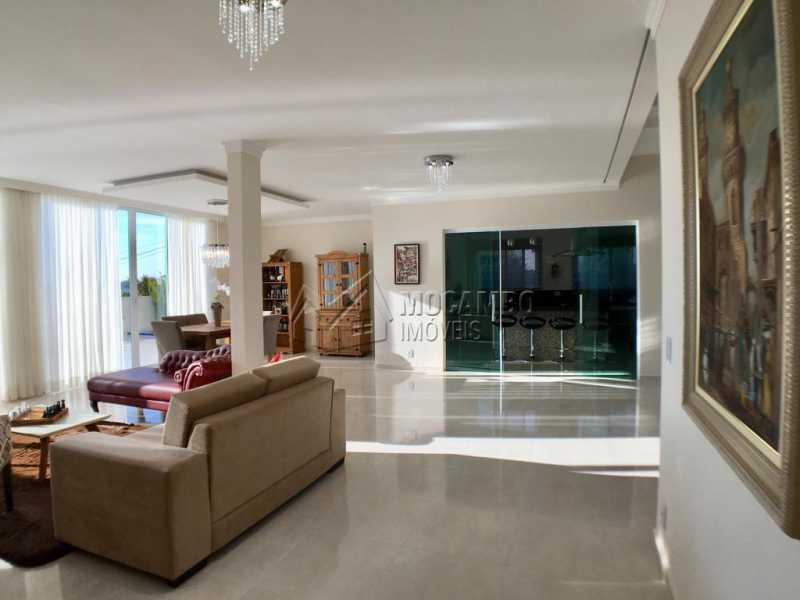 Sala de estar - Casa em Condomínio 4 quartos para alugar Itatiba,SP - R$ 5.700 - FCCN40134 - 5
