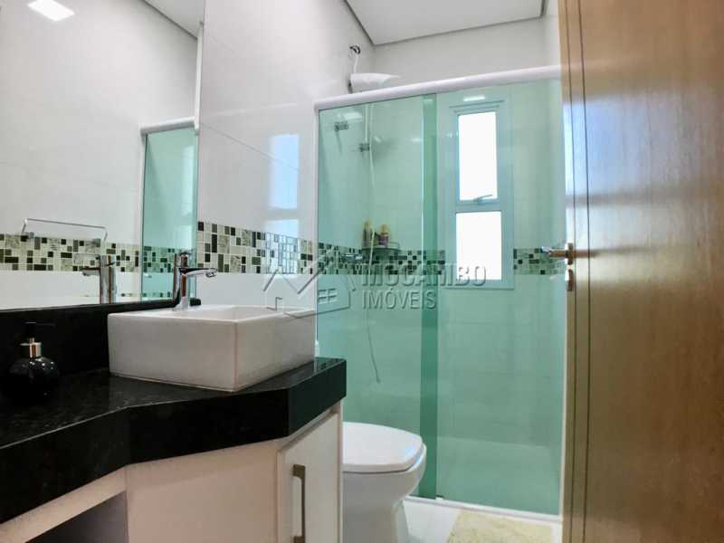 Banheiro suíte - Casa em Condomínio 4 quartos para alugar Itatiba,SP - R$ 5.700 - FCCN40134 - 19