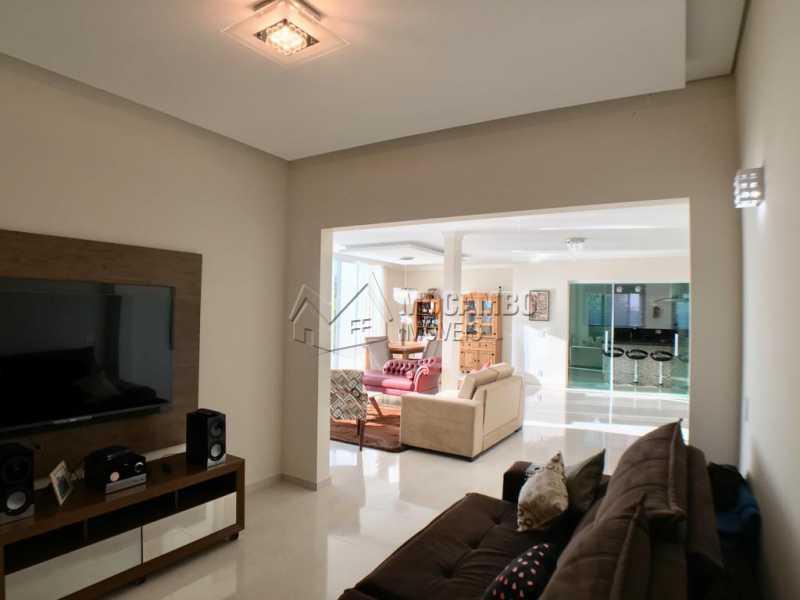 Sala de tv - Casa em Condomínio 4 quartos para alugar Itatiba,SP - R$ 5.700 - FCCN40134 - 6