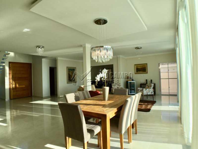 Sala de Jantar - Casa em Condomínio 4 quartos para alugar Itatiba,SP - R$ 5.700 - FCCN40134 - 4