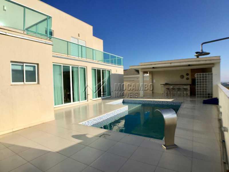 Área externa - Casa em Condomínio 4 quartos para alugar Itatiba,SP - R$ 5.700 - FCCN40134 - 1