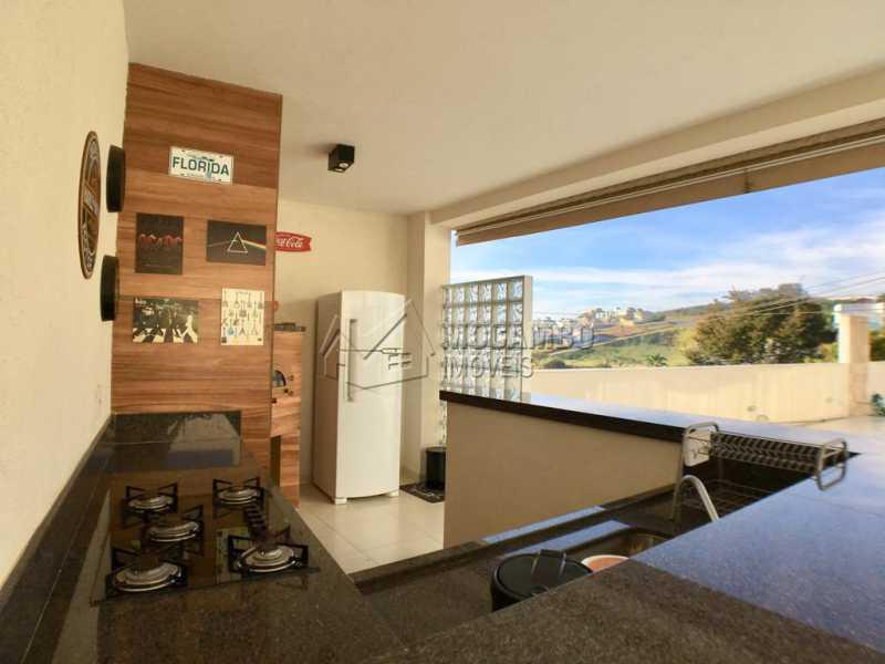Área gourmet - Casa em Condomínio 4 quartos para alugar Itatiba,SP - R$ 5.700 - FCCN40134 - 29