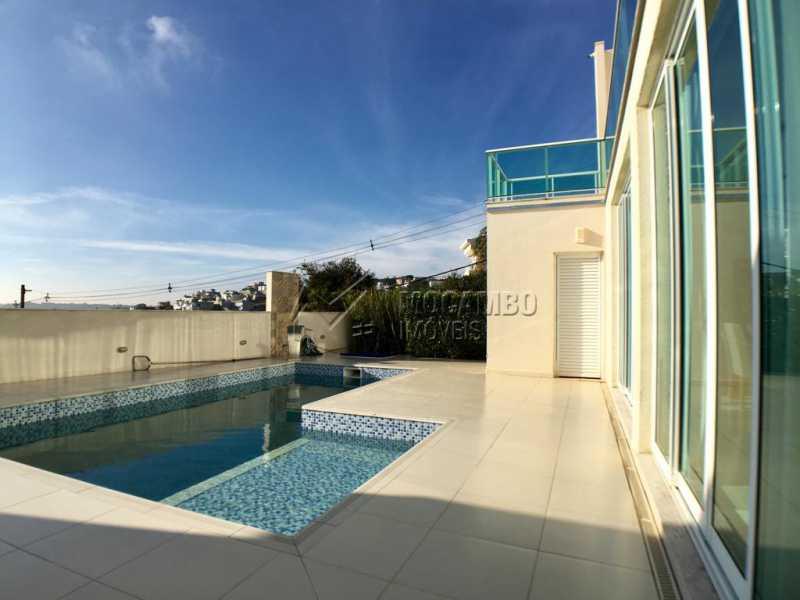 Área externa - Casa em Condomínio 4 quartos para alugar Itatiba,SP - R$ 5.700 - FCCN40134 - 27