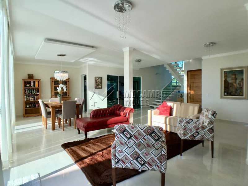 Sala de estar - Casa em Condomínio 4 quartos para alugar Itatiba,SP - R$ 5.700 - FCCN40134 - 3