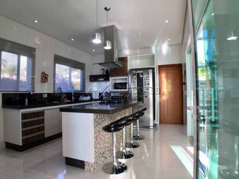 Cozinha - Casa em Condomínio 4 quartos para alugar Itatiba,SP - R$ 5.700 - FCCN40134 - 10