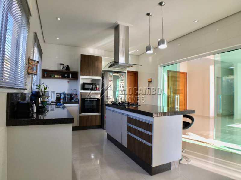 Cozinha - Casa em Condomínio 4 quartos para alugar Itatiba,SP - R$ 5.700 - FCCN40134 - 11