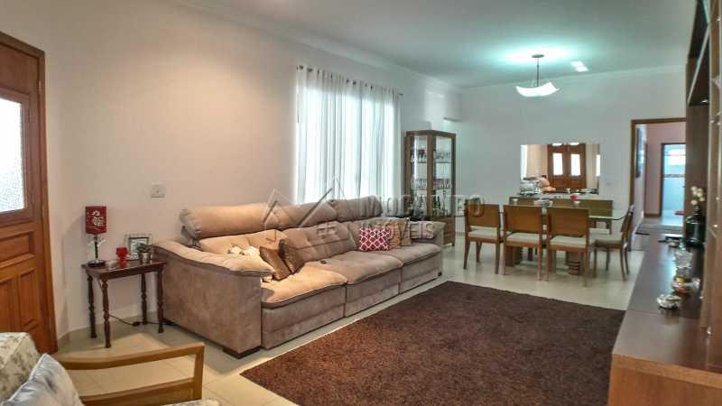 Sala - Casa em Condomínio 4 quartos à venda Itatiba,SP - R$ 1.200.000 - FCCN40135 - 3