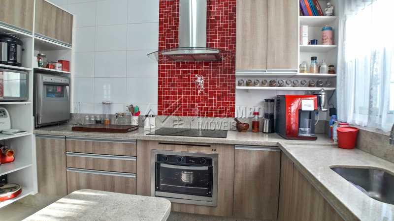 Cozinha - Casa em Condomínio 4 quartos à venda Itatiba,SP - R$ 1.200.000 - FCCN40135 - 16