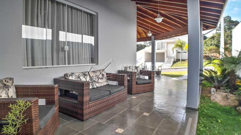 Varanda - Casa em Condomínio 4 quartos à venda Itatiba,SP - R$ 1.200.000 - FCCN40135 - 1