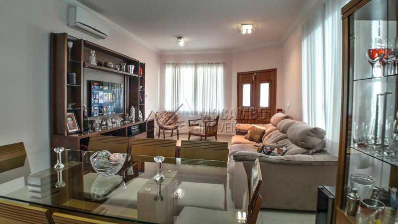 Sala - Casa em Condomínio 4 quartos à venda Itatiba,SP - R$ 1.200.000 - FCCN40135 - 4