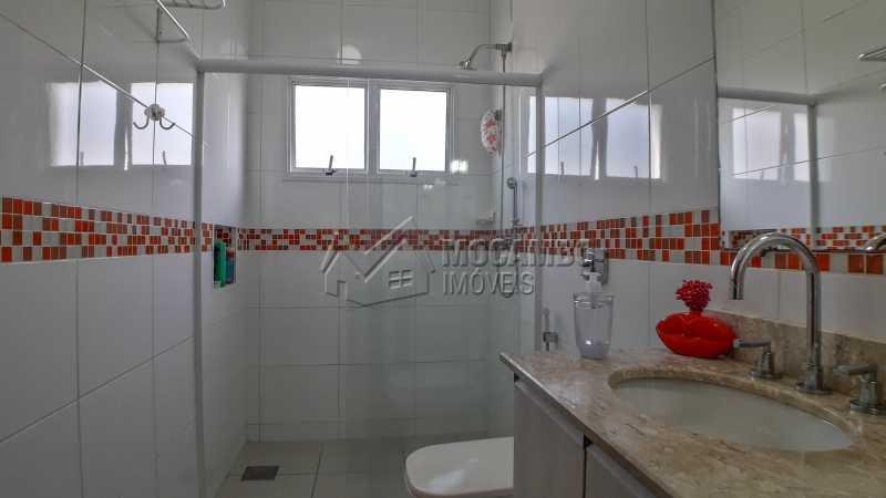 Banheiro da Suíte - Casa em Condomínio 4 quartos à venda Itatiba,SP - R$ 1.200.000 - FCCN40135 - 10