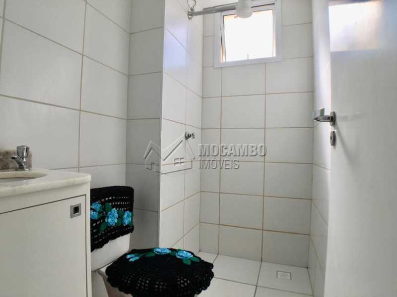 Banheiro social - Apartamento 2 quartos à venda Itatiba,SP - R$ 240.000 - FCAP20939 - 8