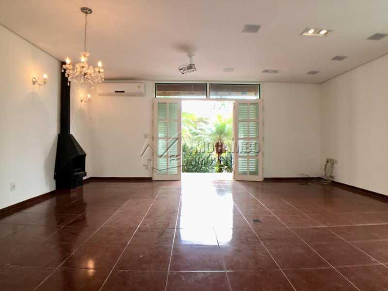 Sala com lareira - Casa em Condomínio 3 quartos à venda Itatiba,SP - R$ 1.090.000 - FCCN30400 - 4