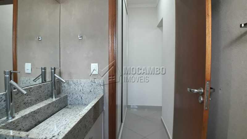 Banheiro Suíte - Casa em Condomínio 3 quartos para venda e aluguel Itatiba,SP - R$ 3.900 - FCCN30403 - 18