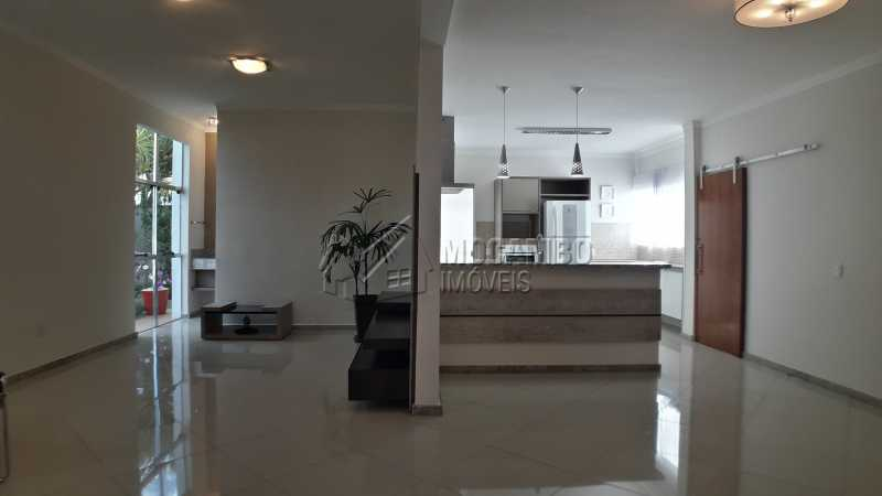 Salas  - Casa em Condomínio 3 quartos para venda e aluguel Itatiba,SP - R$ 3.900 - FCCN30403 - 3