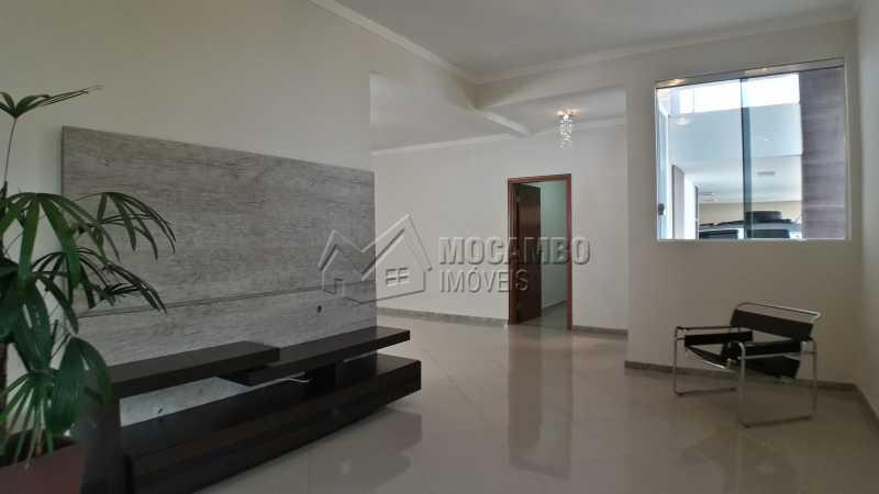 Sala de TV - Casa em Condomínio 3 quartos para venda e aluguel Itatiba,SP - R$ 3.900 - FCCN30403 - 5