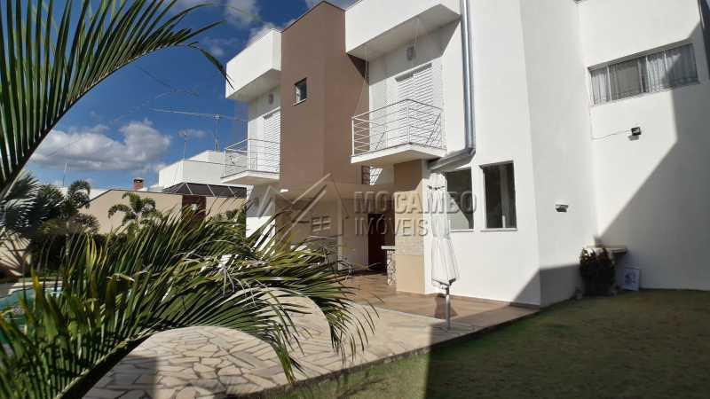 Fachada Interna - Casa em Condomínio 3 quartos para venda e aluguel Itatiba,SP - R$ 3.900 - FCCN30403 - 1