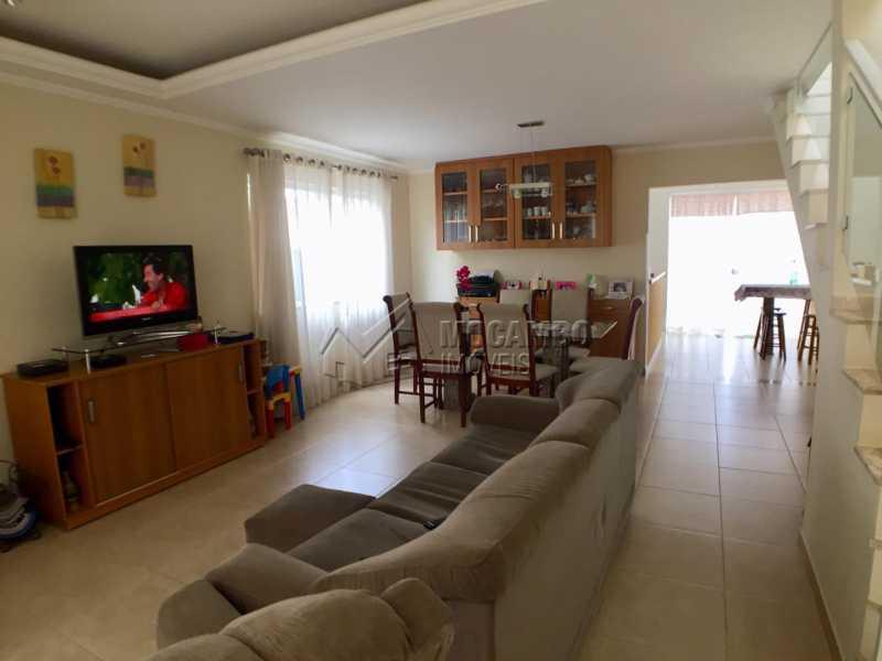 Sala  - Casa em Condomínio 3 Quartos À Venda Itatiba,SP - R$ 700.000 - FCCN30404 - 3
