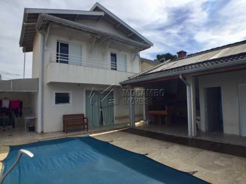 Quintal - Casa em Condomínio 3 Quartos À Venda Itatiba,SP - R$ 700.000 - FCCN30404 - 16