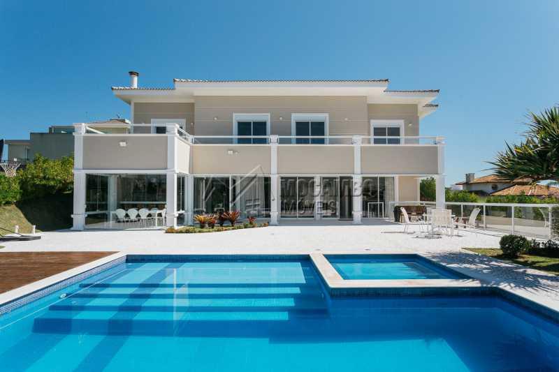 Cond. Village das Palmeiras - Casa em Condomínio 4 quartos à venda Itatiba,SP - R$ 1.850.000 - FCCN40138 - 1
