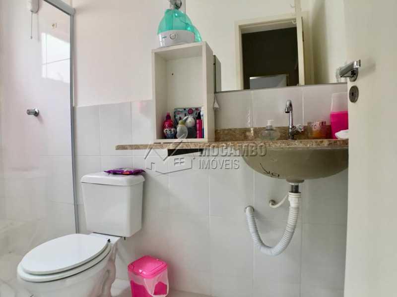 Banheiro social - Casa em Condomínio 3 quartos à venda Itatiba,SP - R$ 450.000 - FCCN30405 - 7