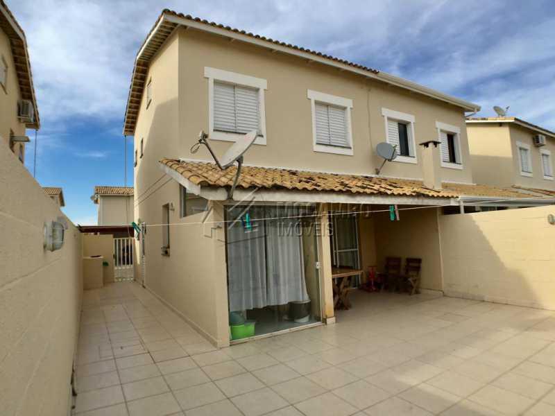Quintal - Casa em Condomínio 3 quartos à venda Itatiba,SP - R$ 450.000 - FCCN30405 - 12