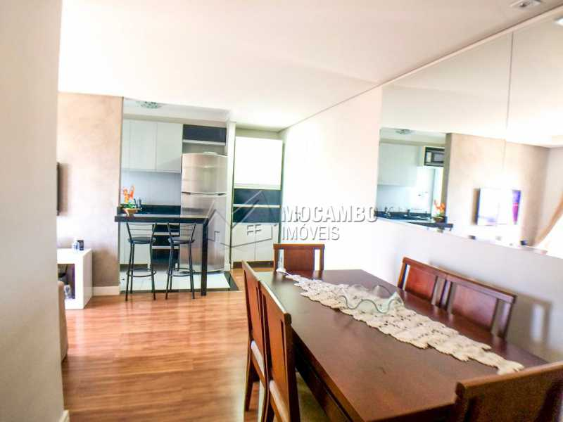 Sala/ Copa - Apartamento 2 quartos à venda Itatiba,SP - R$ 225.000 - FCAP20956 - 3