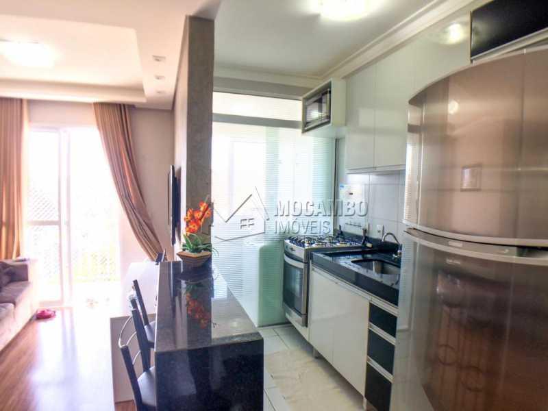 Cozinha/ Sala - Apartamento 2 quartos à venda Itatiba,SP - R$ 225.000 - FCAP20956 - 6