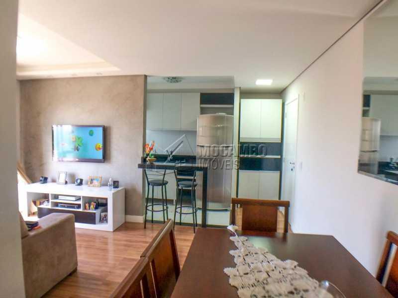 Sala/ Copa - Apartamento 2 quartos à venda Itatiba,SP - R$ 225.000 - FCAP20956 - 1