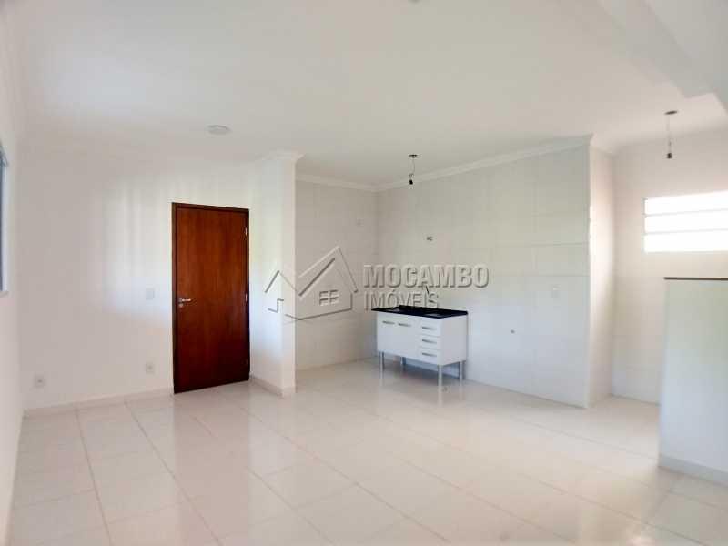 Sala/Cozinha - Apartamento 2 quartos para alugar Itatiba,SP - R$ 1.200 - FCAP20962 - 4