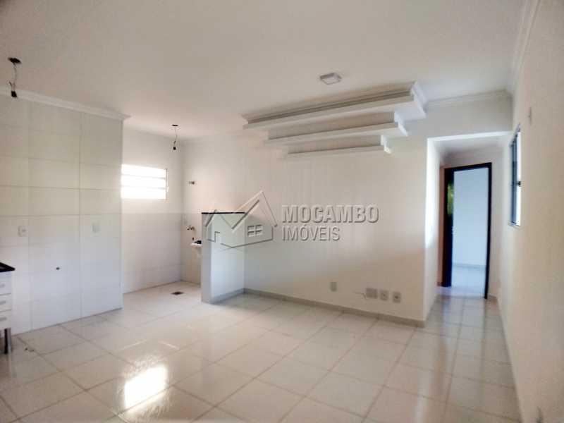 Sala/Cozinha - Apartamento 2 quartos para alugar Itatiba,SP - R$ 1.200 - FCAP20962 - 5