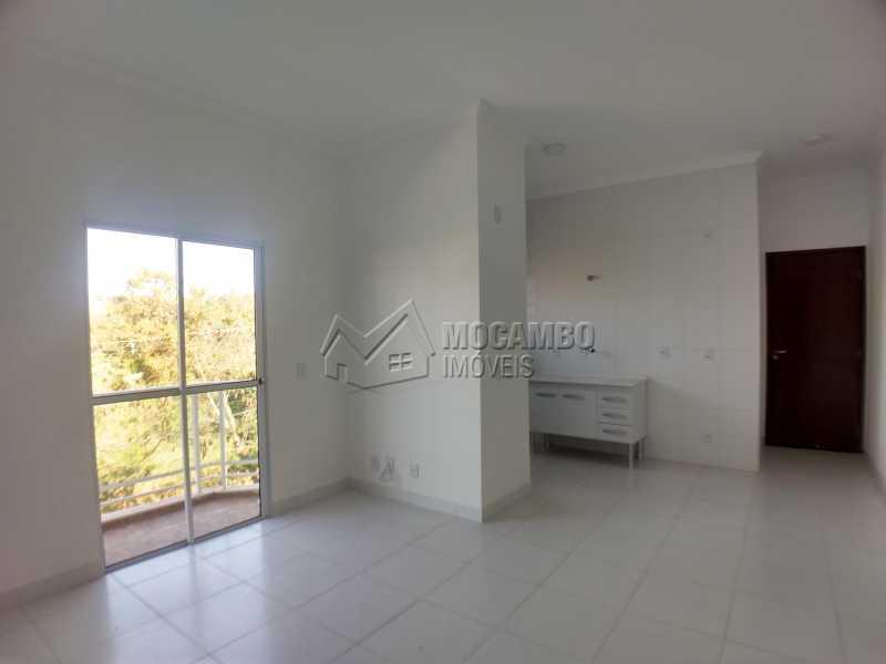 Sala/Cozinha - Apartamento 2 quartos para alugar Itatiba,SP - R$ 1.000 - FCAP20967 - 6