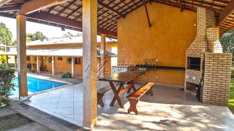 Área Gourmet - Chácara 1282m² à venda Itatiba,SP - R$ 820.000 - FCCH20063 - 8