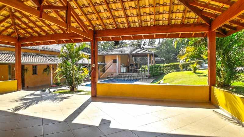 Salão - Chácara 1282m² à venda Itatiba,SP - R$ 820.000 - FCCH20063 - 9