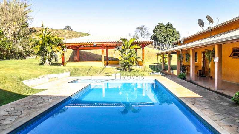 Área Externa da Chácara - Chácara 1282m² à venda Itatiba,SP - R$ 820.000 - FCCH20063 - 6