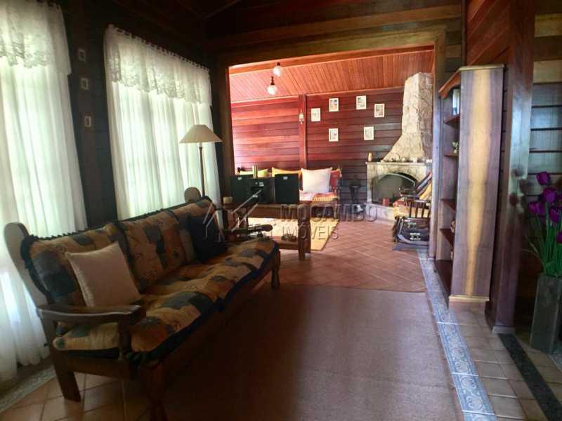 Sala  - Casa em Condomínio 3 quartos à venda Itatiba,SP - R$ 1.200.000 - FCCN30407 - 5