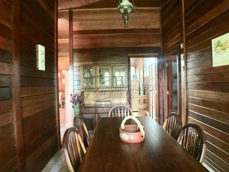 Sala de Jantar  - Casa em Condomínio 3 quartos à venda Itatiba,SP - R$ 1.200.000 - FCCN30407 - 6