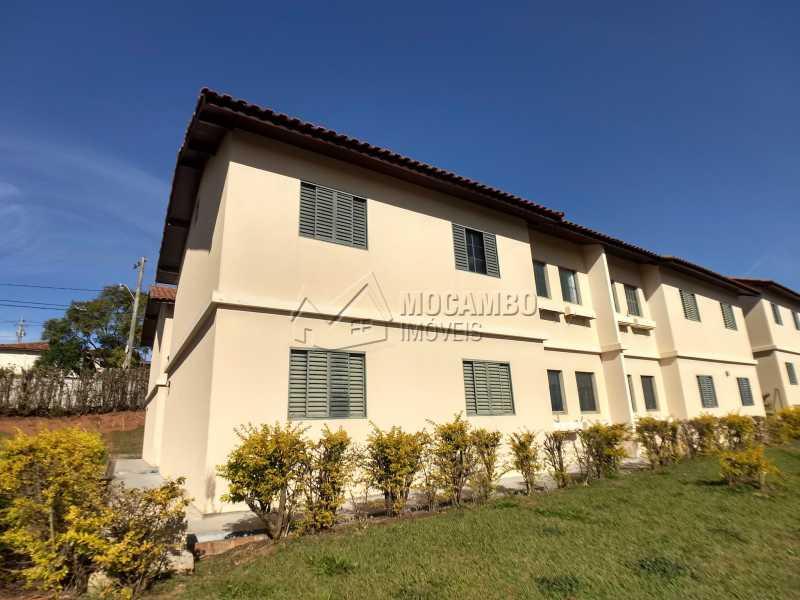 Fachada - Apartamento Residencial Beija-Flor - Condomínio A , Itatiba, Residencial Beija Flor, SP Para Alugar, 3 Quartos, 55m² - FCAP30504 - 9