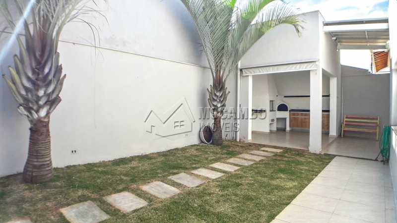 Área Externa - Casa em Condomínio 3 quartos à venda Itatiba,SP - R$ 850.000 - FCCN30408 - 10
