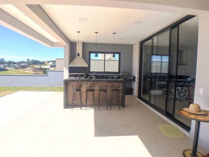 Espaço Gourmet - Casa em Condomínio 3 quartos à venda Itatiba,SP - R$ 1.400.000 - FCCN30409 - 4