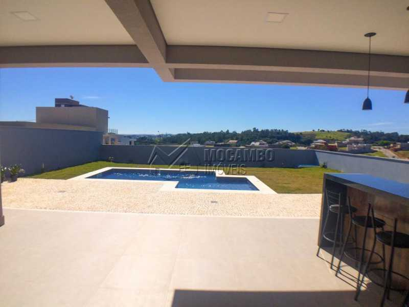 Área externa - Casa em Condomínio 3 quartos à venda Itatiba,SP - R$ 1.400.000 - FCCN30409 - 5
