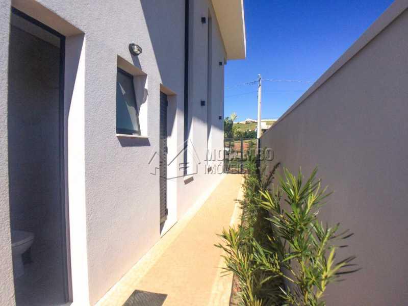 Lateral - Casa em Condomínio 3 quartos à venda Itatiba,SP - R$ 1.400.000 - FCCN30409 - 24
