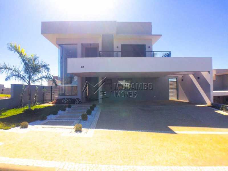 Fachada - Casa em Condomínio 3 quartos à venda Itatiba,SP - R$ 1.400.000 - FCCN30409 - 1