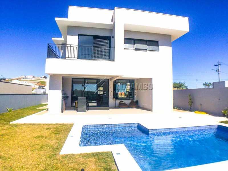 Fachada interna - Casa em Condomínio 3 quartos à venda Itatiba,SP - R$ 1.400.000 - FCCN30409 - 3