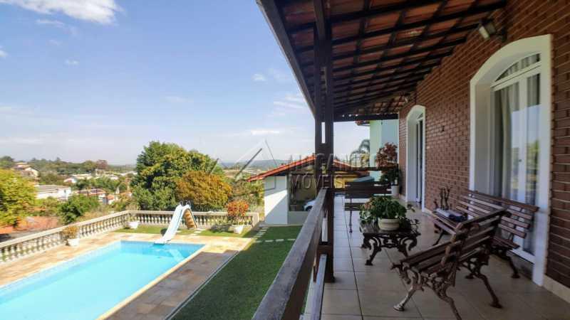 Varanda/Piscina - Casa em Condomínio 3 quartos à venda Itatiba,SP - R$ 1.200.000 - FCCN30410 - 14