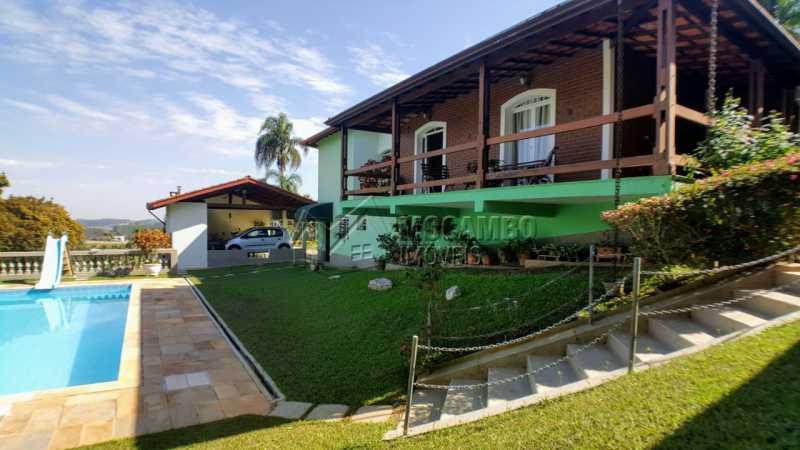 Área externa - Casa em Condomínio 3 quartos à venda Itatiba,SP - R$ 1.200.000 - FCCN30410 - 3