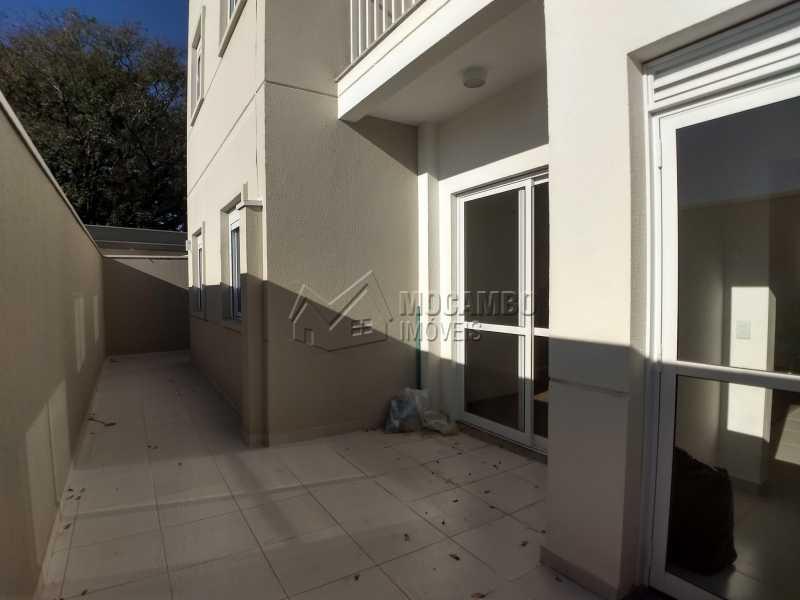Quintal - Apartamento 3 quartos à venda Itatiba,SP - R$ 420.000 - FCAP30507 - 10