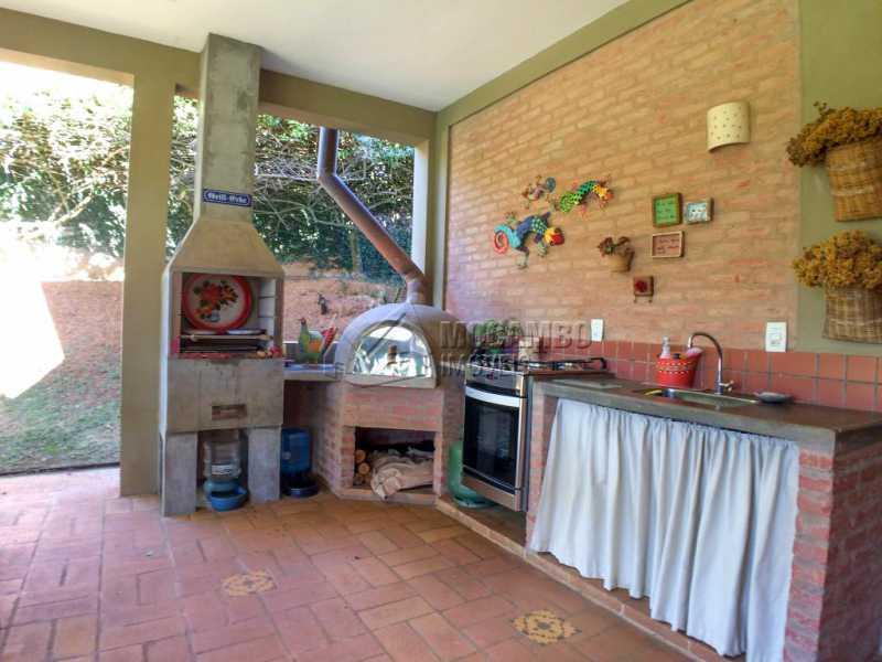 Área Gourmet - Casa em Condomínio Ville Chamonix, Itatiba, Ville Chamonix, SP À Venda, 4 Quartos, 384m² - FCCN40140 - 19